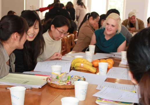 Daily life- Teaching English in High Schools in Shanghai