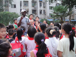 Image of Day in the life: Teaching English in a primary school in China.