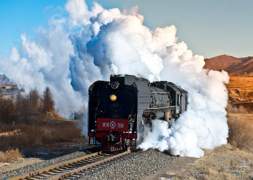 Image of Steam Trains In China